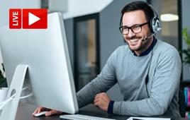 Live Online oder bei tecTrain – Sie entscheiden!