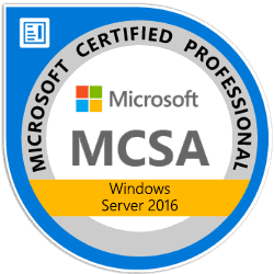 Kurs: MCSA: Windows Server 2016 – Komplettausbildung