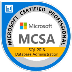 Kurs: MCSA: SQL 2016 Database Administration (Bundle)