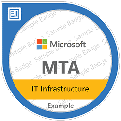 Windows Server Administration Fundamentals (MTA)
